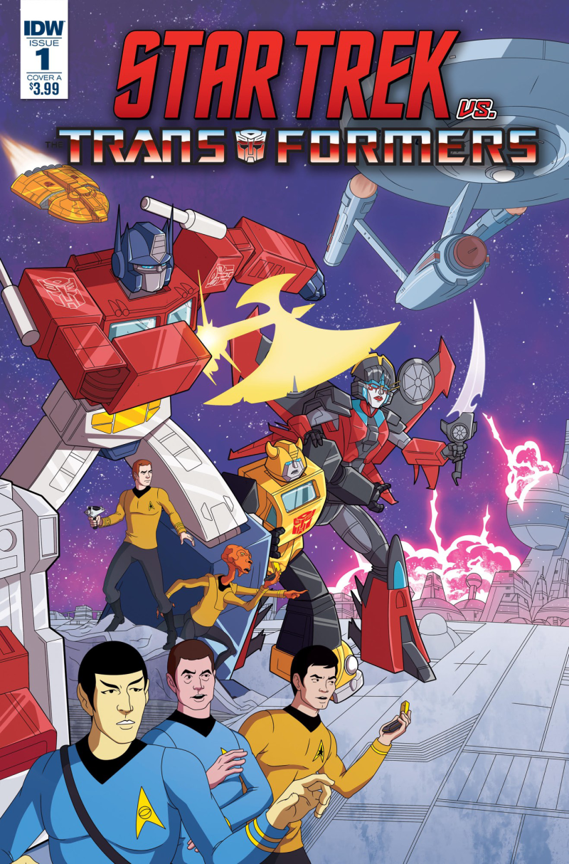 Transformers News: IDW Star Trek Vs. Transformers Series Discussion Thread