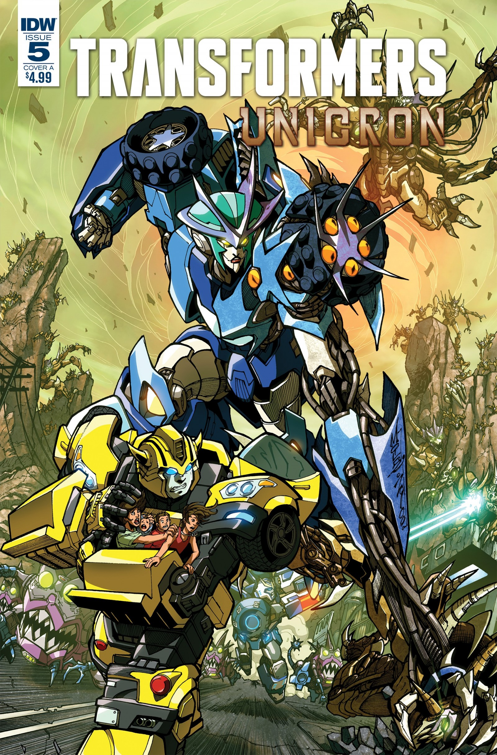 Transformers News: IDW Transformers and Hasbro Universe Comics Solicitations for September 2018