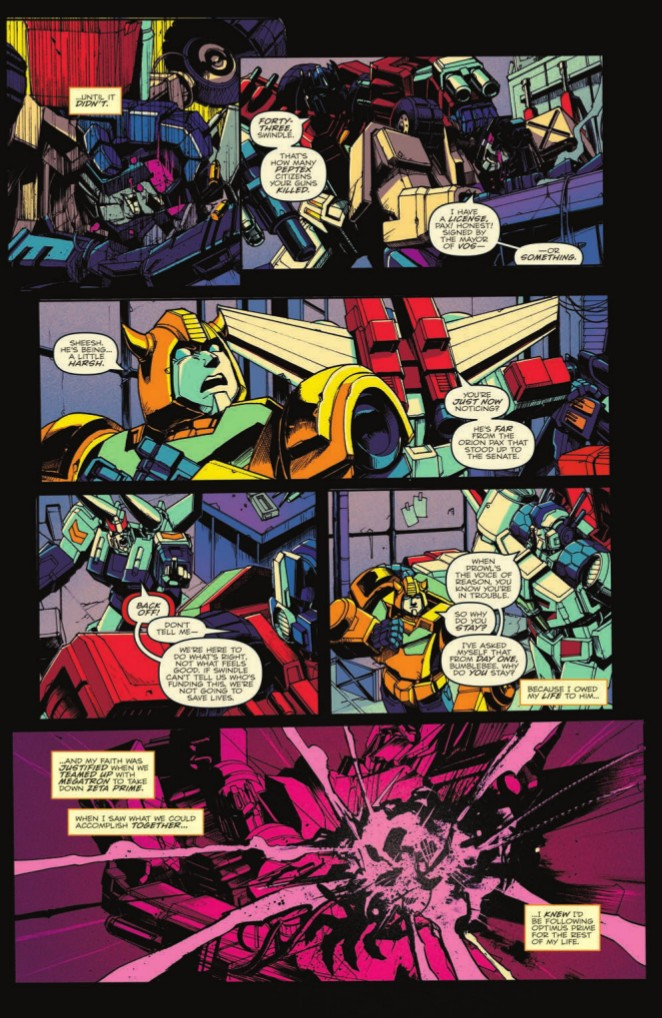 Transformers News: Full Preview for IDW Transformers Optimus Prime #20