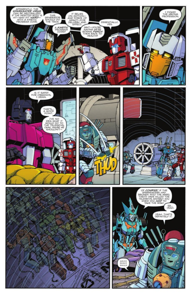 Transformers News: Full Preview for IDW Transformers: Lost Light #20