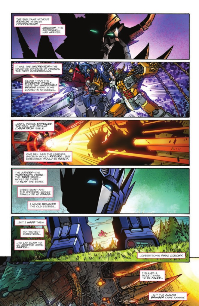 Transformers News: Re: IDW Transformers Comics - Road to Unicron