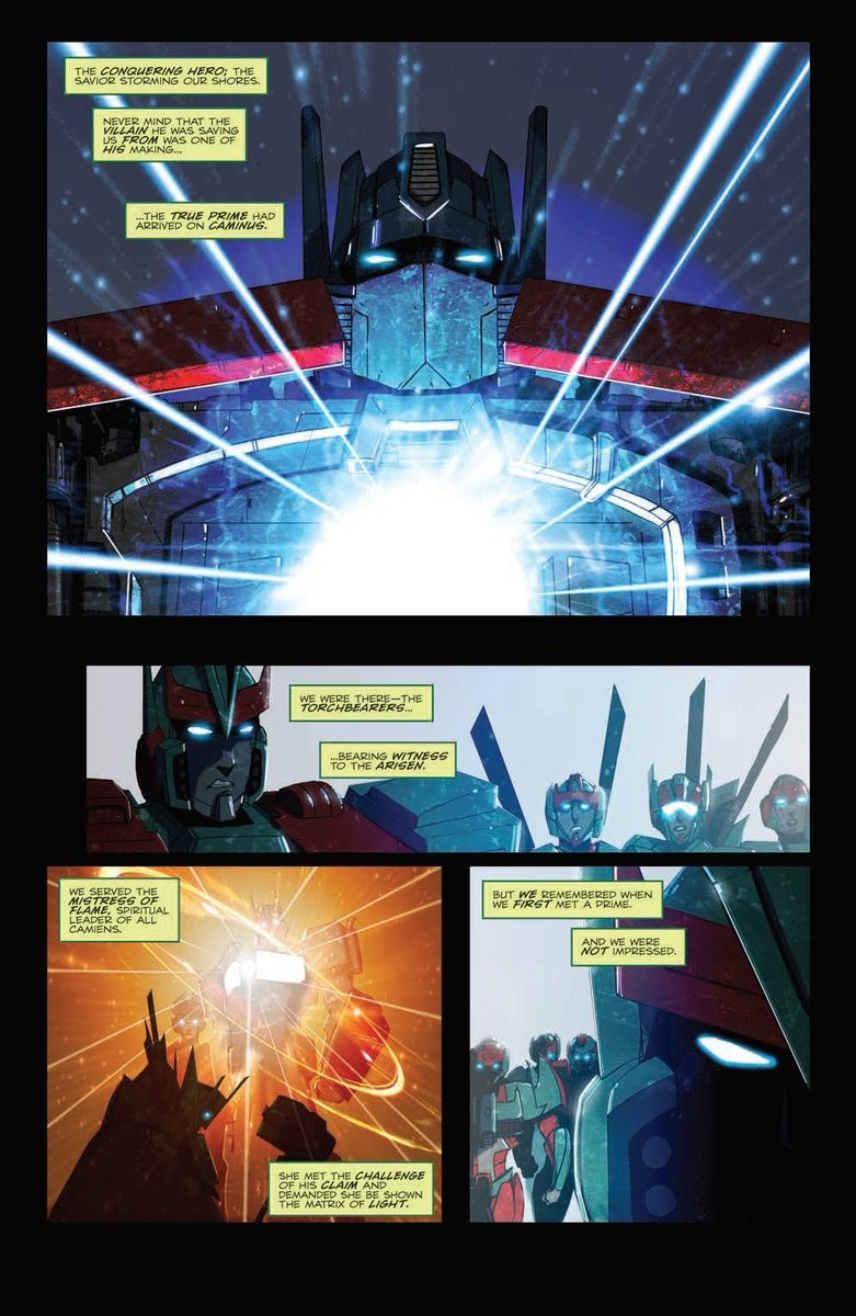 Transformers News: Preview for IDW Transformers: Optimus Prime #21