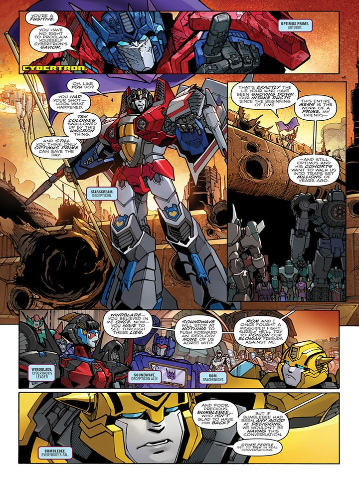 Transformers News: iTunes Preview for IDW Transformers: Unicron