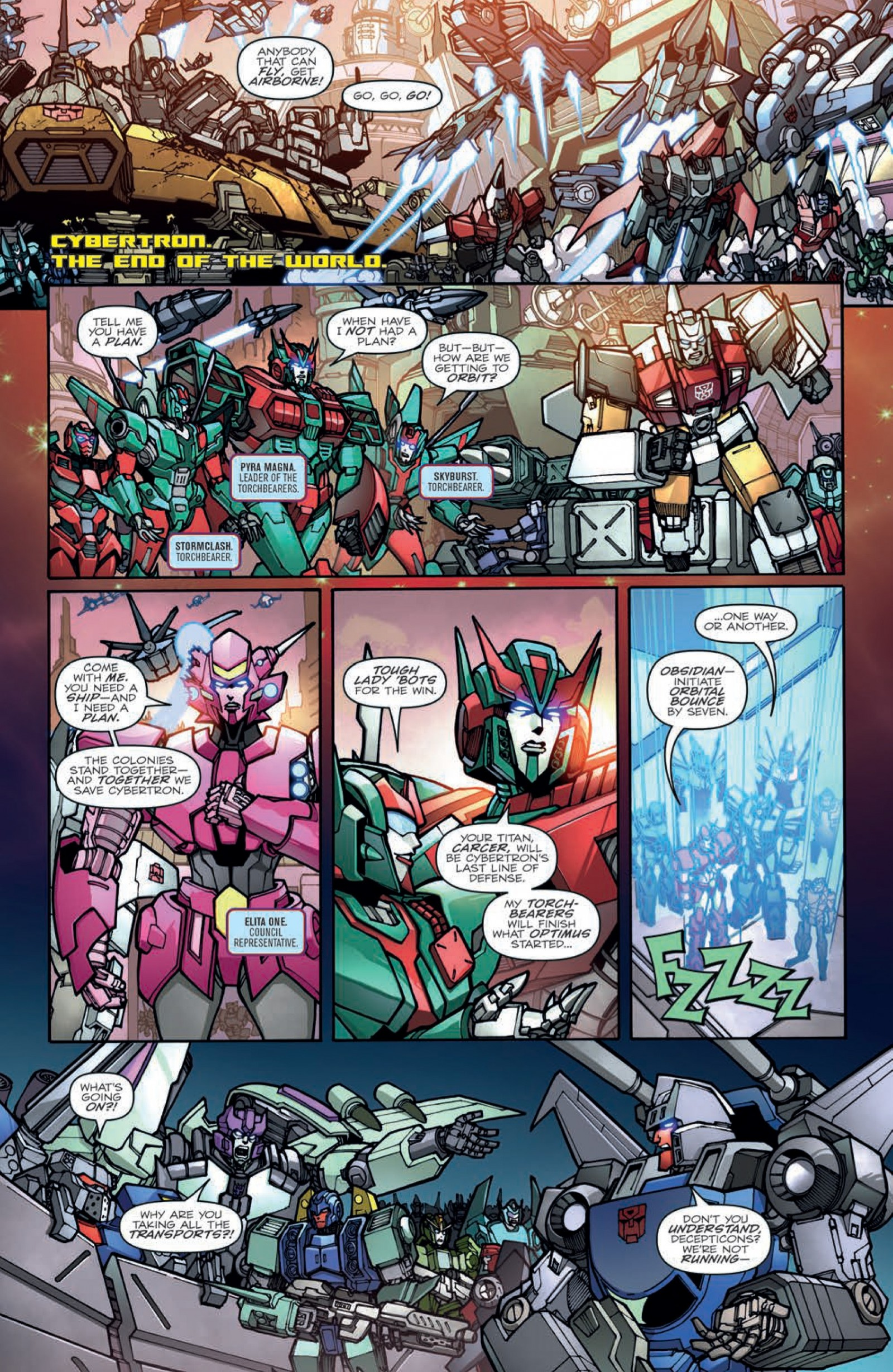 Transformers News: Full Preview for IDW Transformers: Unicron #3