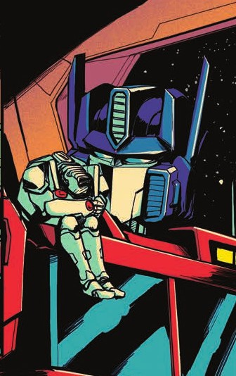Transformers News: Review of IDW Transformers Optimus Prime #22
