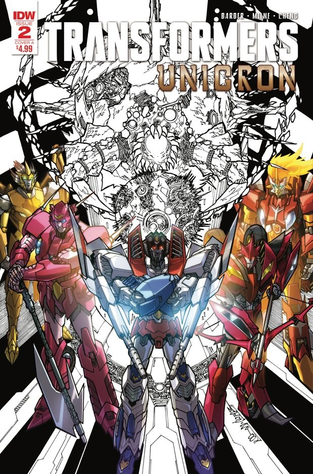 Transformers News: IDW Transformers: Unicron #1 & #2 Second Printing and Cover Variants