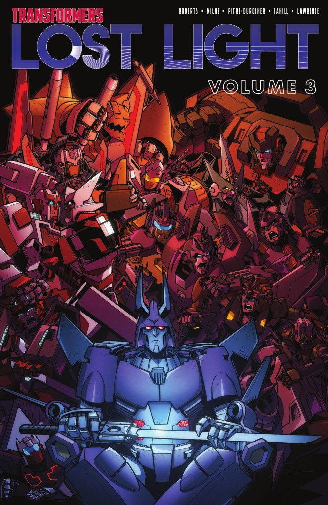 Transformers News: Full Preview of IDW Transformers: Lost Light Volume 3 TPB