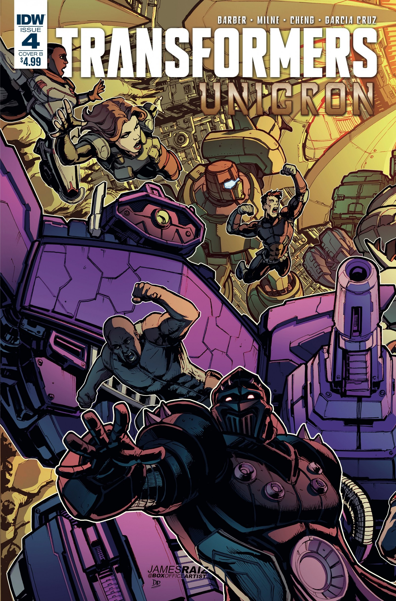 Full Preview of IDW Transformers: Unicron #4