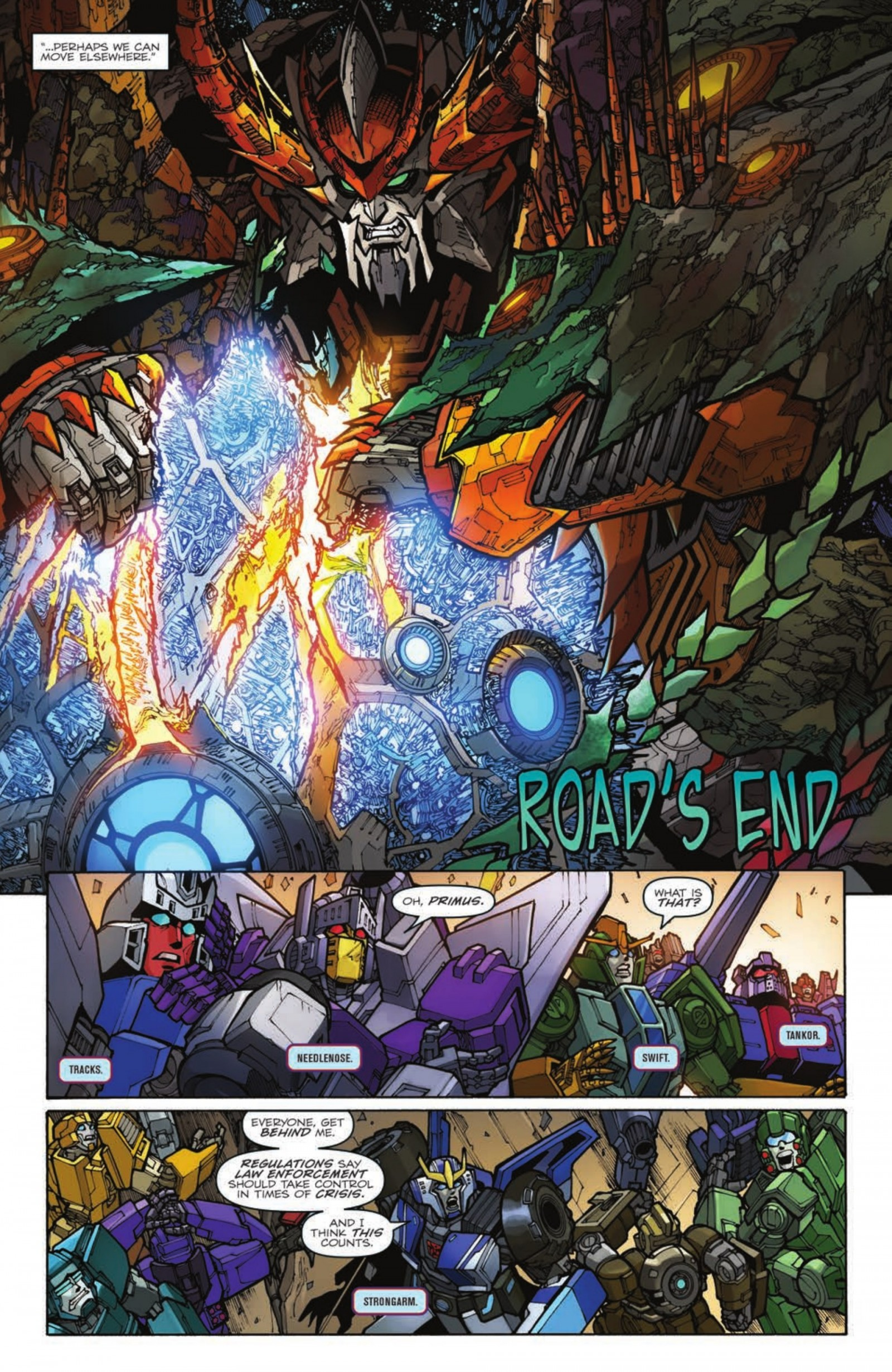 iTunes Preview for IDW Transformers: Unicron #4