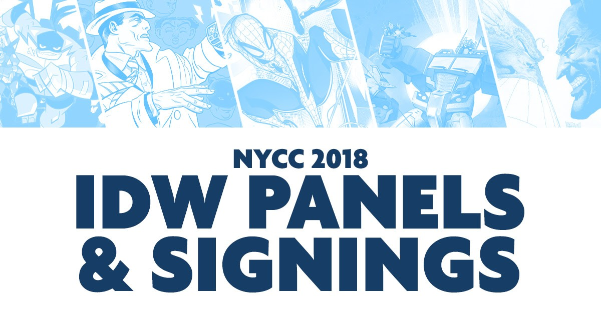 Transformers News: IDW Publishing Signings and Panels at #NYCC, feat. Transformers