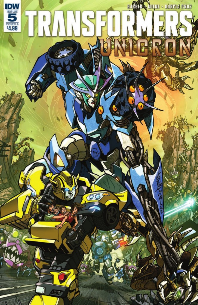 Transformers News: Full Preview for IDW Transformers: Unicron #5