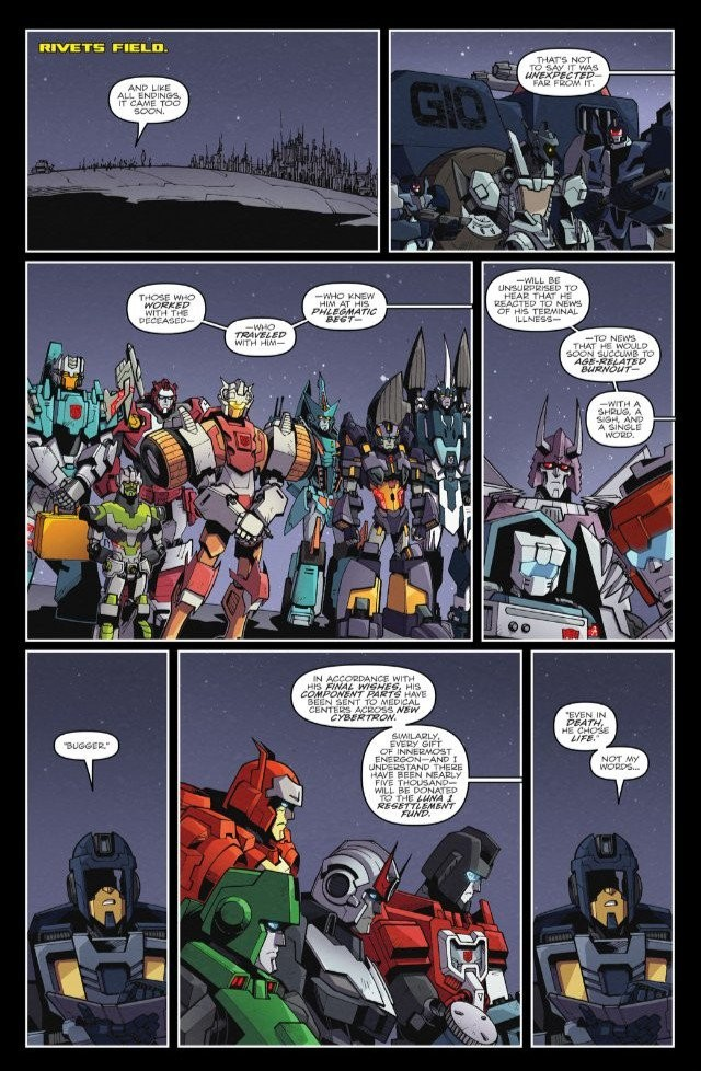 Transformers News: IDW Lost Light #25 One-Page Preview