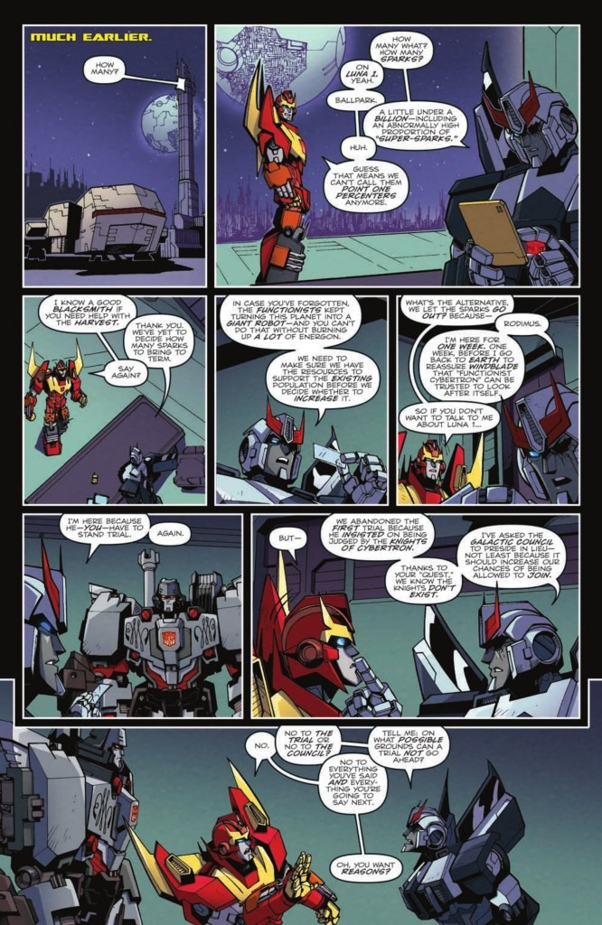 Transformers News: 5 Page Preview for Transformers: Lost Light 25