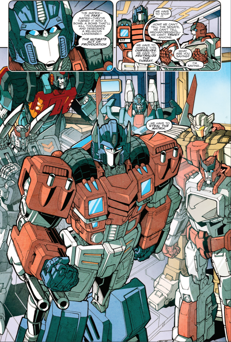 Transformers News: Top 5 Best Transformers Stories from IDW Comics Era