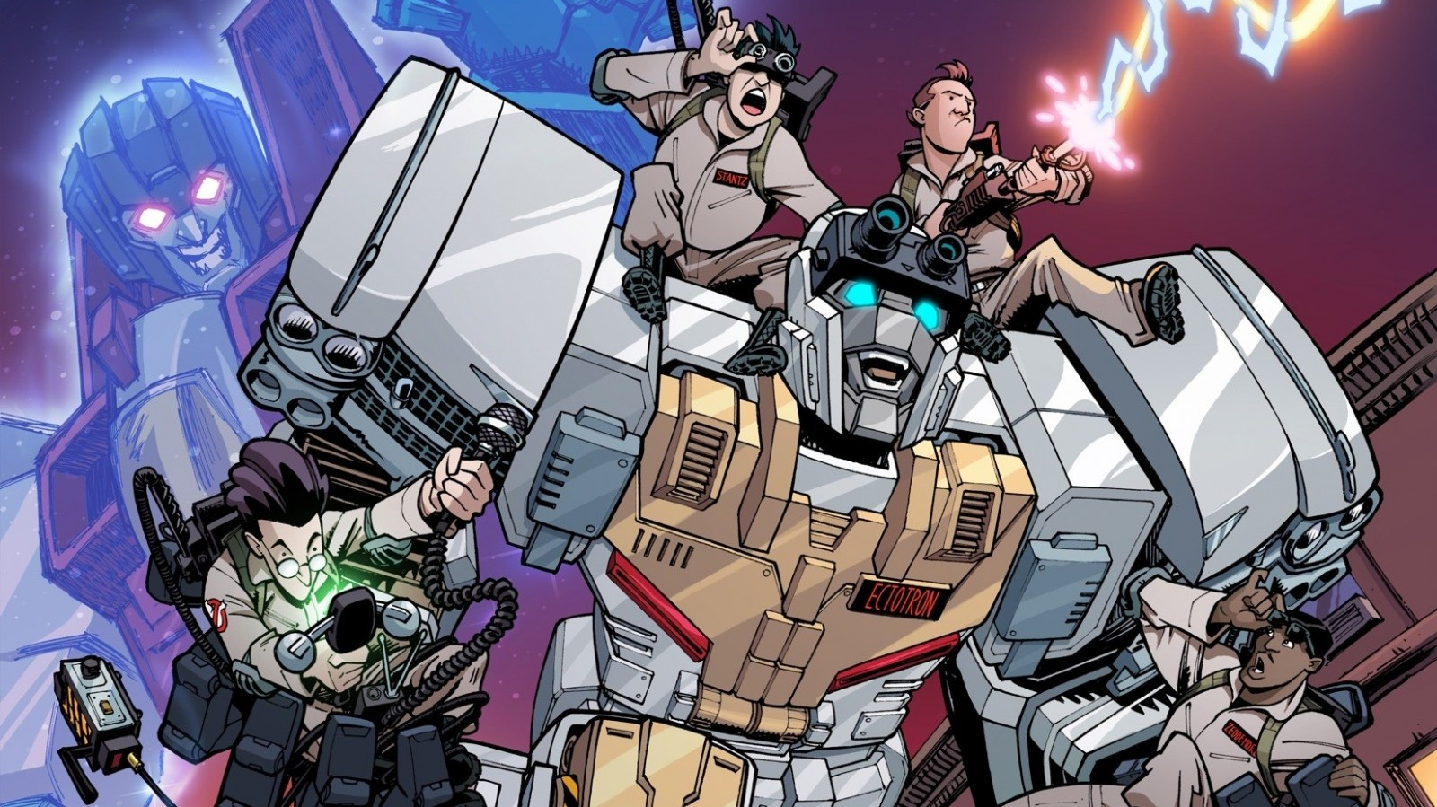 Transformers News: IDW Transformers x Ghostbusters Comic Discussion