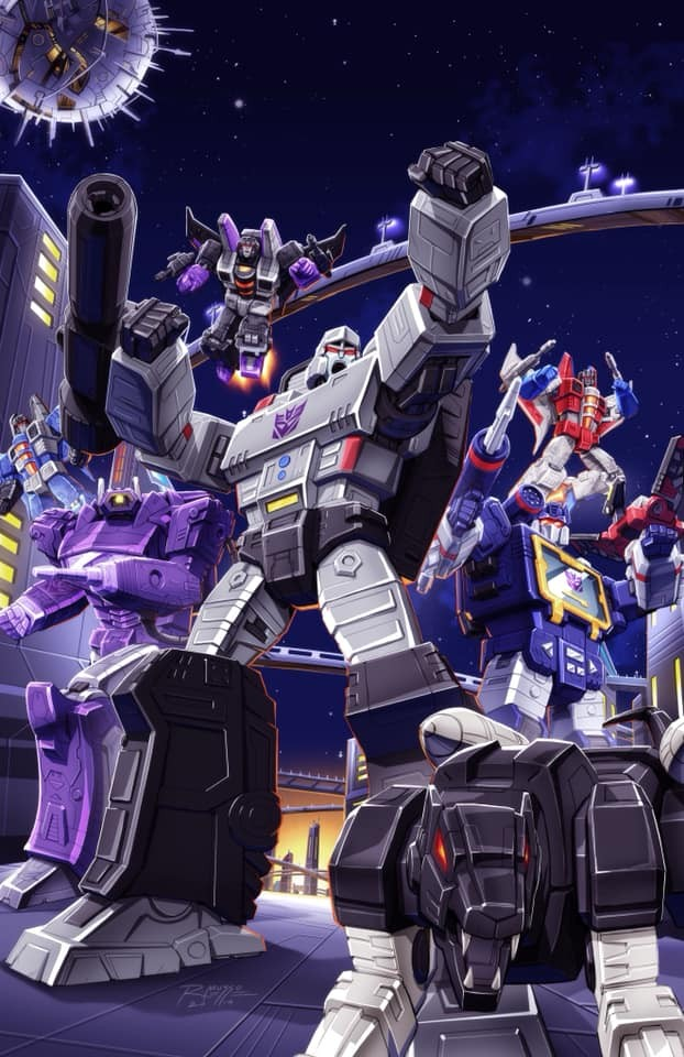 Transformers News: First Look at Transformers #1 Showcase Comic Books and Collectibles Exclusive Cover by Robby Musso