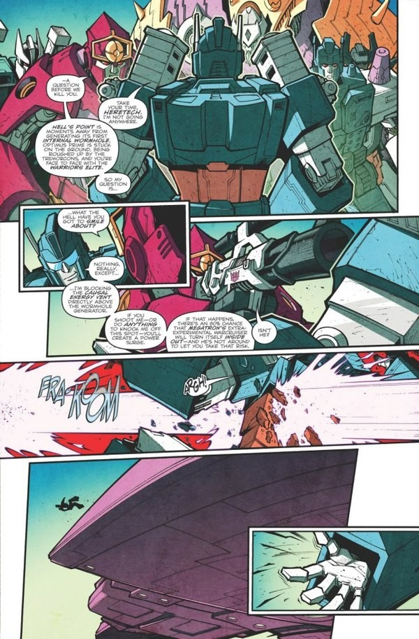 Transformers News: A look into James Roberts Scripting Part 2 Introducing Megatron's Gun Mode
