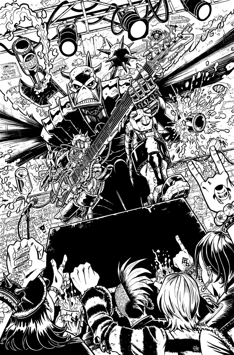 Transformers News: New Cover Artwork for Death's Head Comic Series
