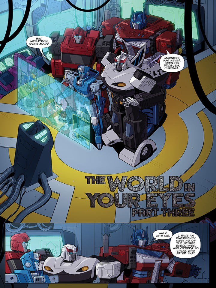 Transformers News: IDW Transformers #3 Discussion Thread