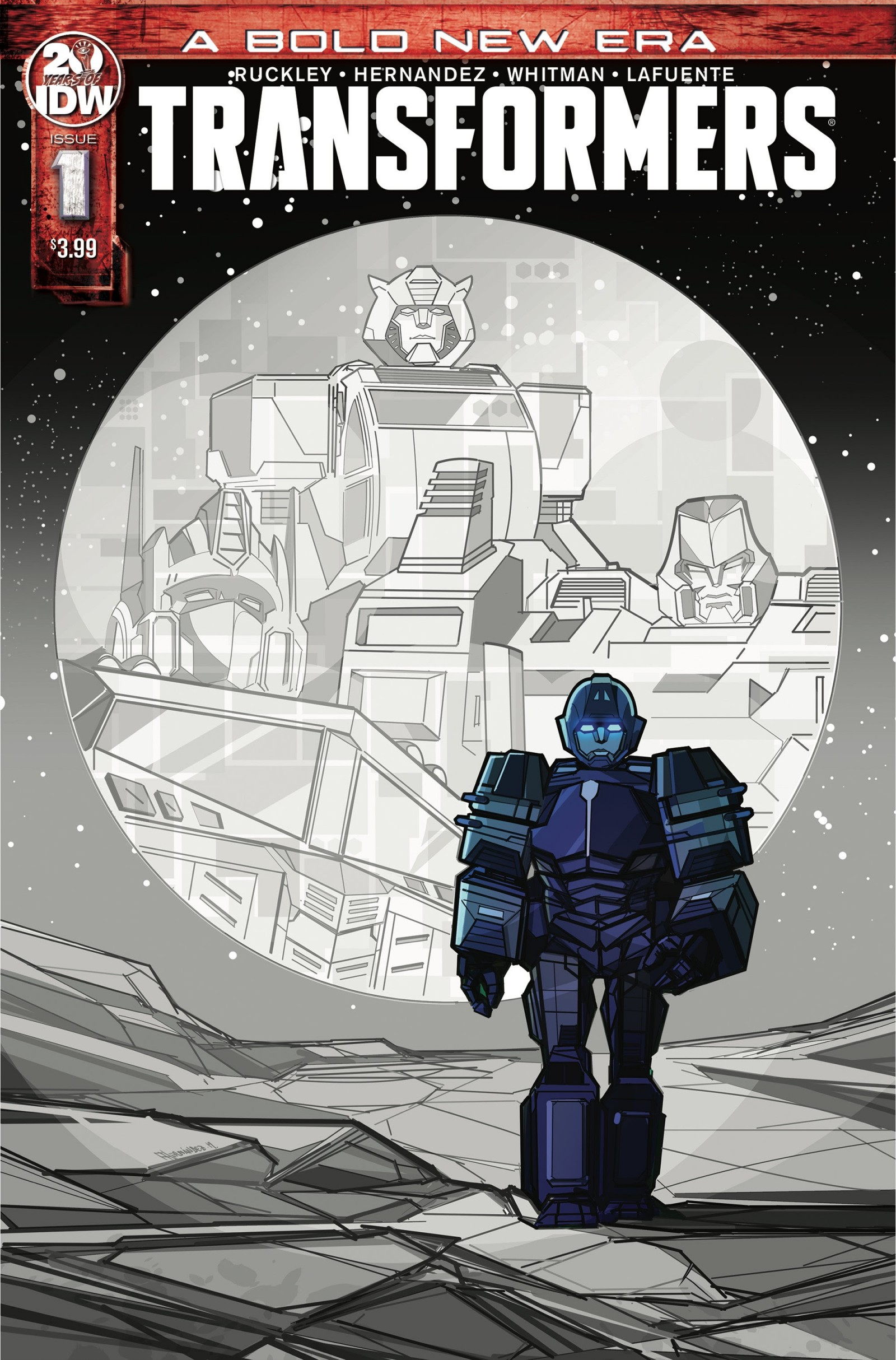 Transformers News: IDW Announces Transformers #1 Re-Print After Sold Out Debut Issue