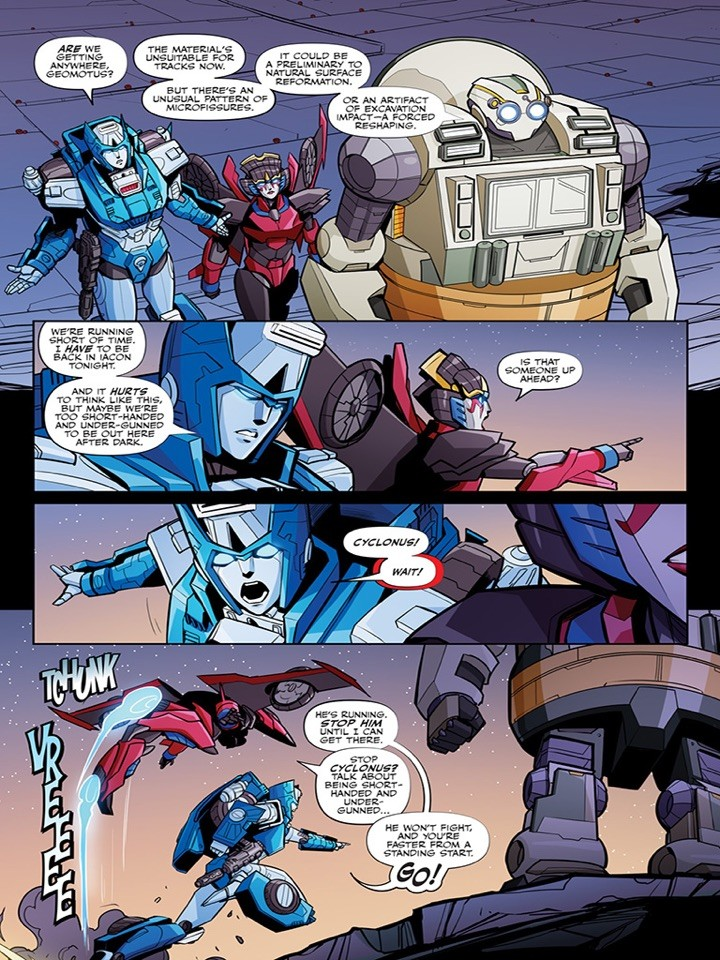 Transformers News: IDW Transformers Comic News with Preview for #4 Featuring CW Cyclonus and Exclusive #3 Cover