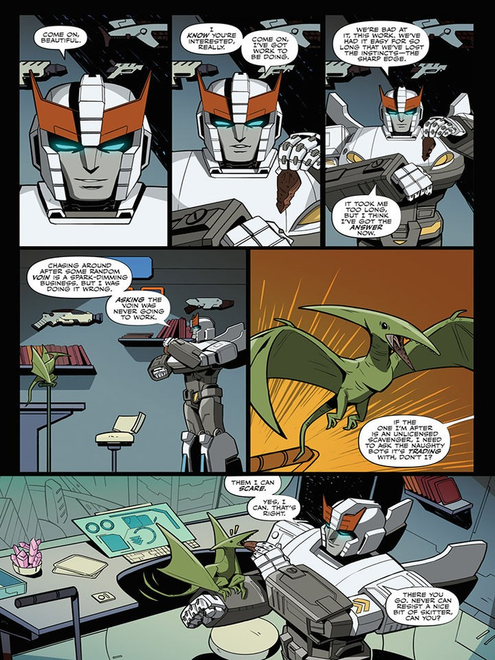 Transformers News: iTunes Preview for IDW Transformers #5