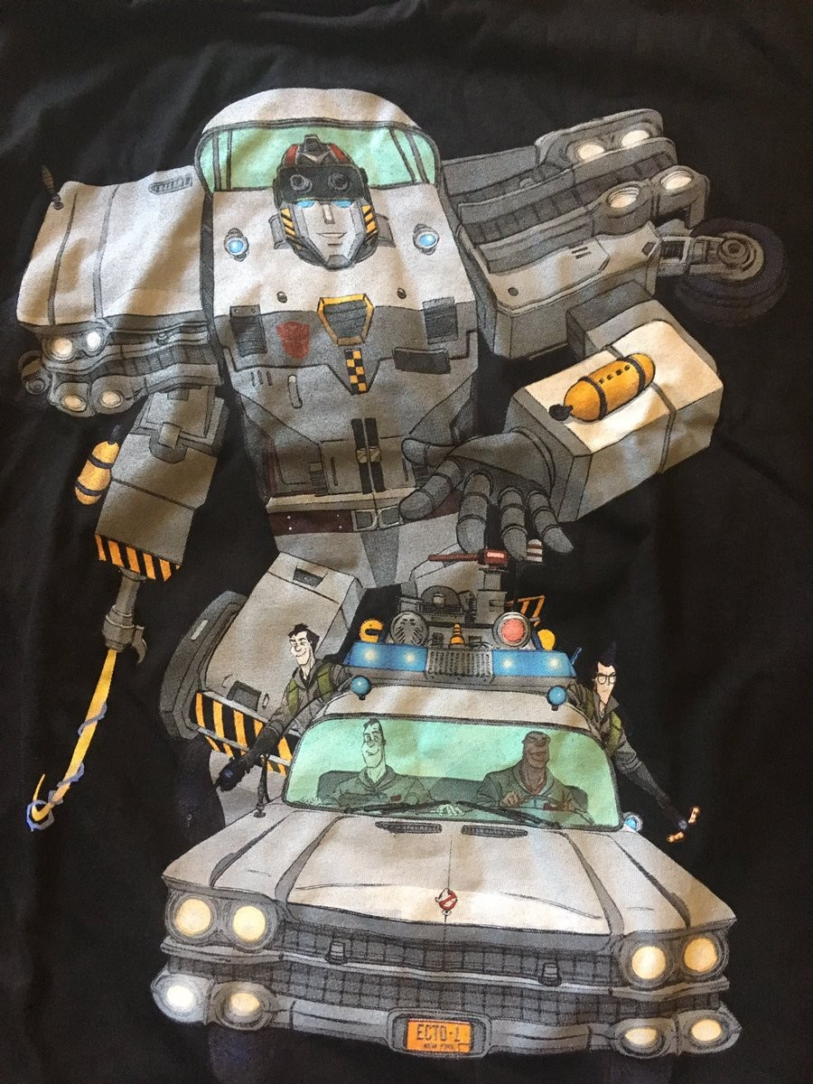Transformers News: Transformers Ectotron Shirt Spotted at US Retail