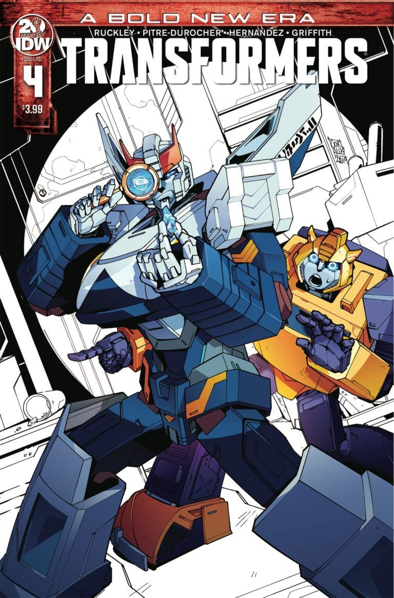Transformers News: IDW Transformers Releasing Additional Printings of Numbers 1, 3, and 4
