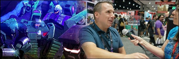 Transformers News: SDCC2019 Interview With Transformers Galaxies Writer Tyler Bleszinski