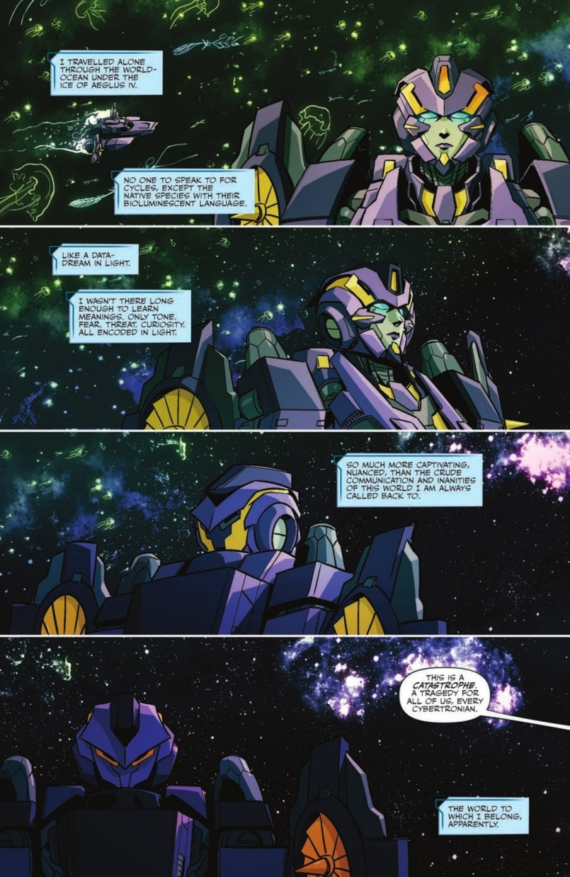 Transformers News: Full Preview for Issue 12 of IDW's Transformers Featuring Nautica