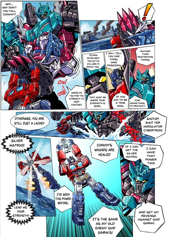 Transformers News: English Translation for Latest Chapter in the Transformers Seacons and Star Convoy Saga Manga