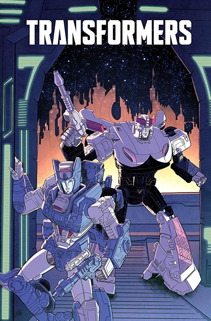 Transformers News: IDW Transformers and Transformers:Galaxies Combined Trade Hardcover to be Released In June