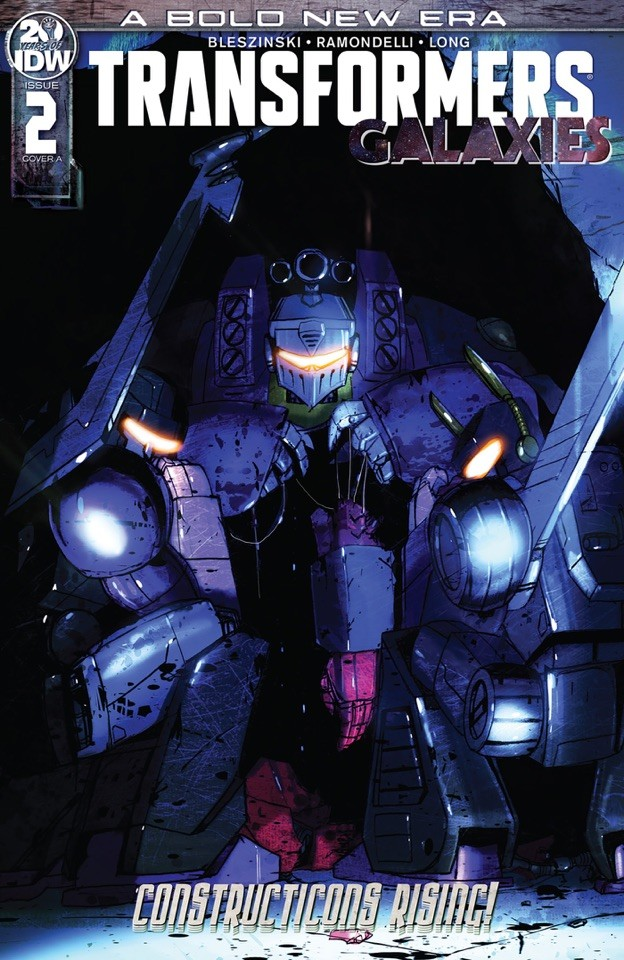 Transformers News: 3 Page iTunes Preview for Transformers Galaxies Issue 2