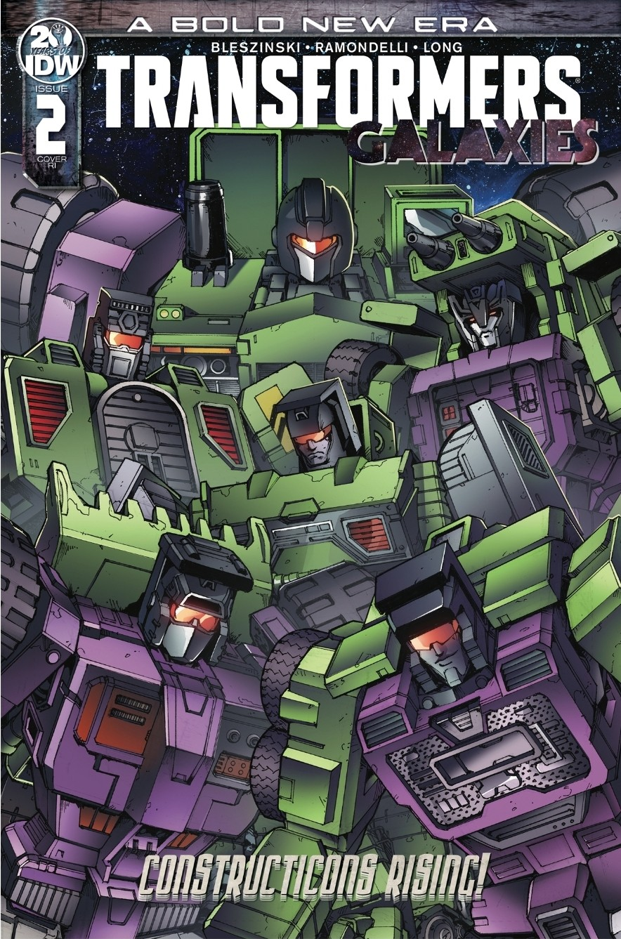 Transformers News: Transformers Issue 14 Three Page Preview And New Galaxies Incentive Cover by Andrew Griffith