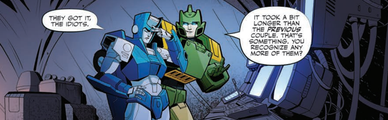 Transformers News: IDW Transformers #14 Review