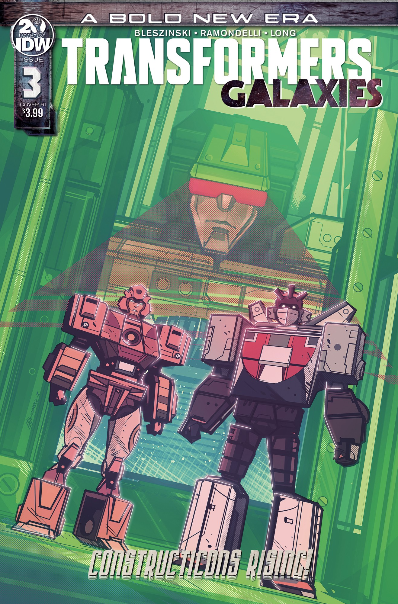 Transformers News: New Retailer Incentive Covers Revealed For IDW Transformers #15, Galaxies #3 and #4
