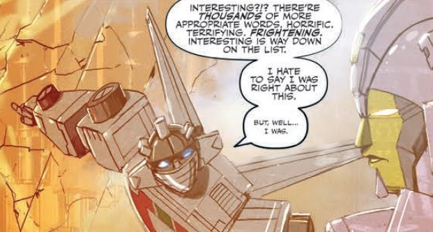 Transformers News: IDW Transformers: Galaxies #3 Review