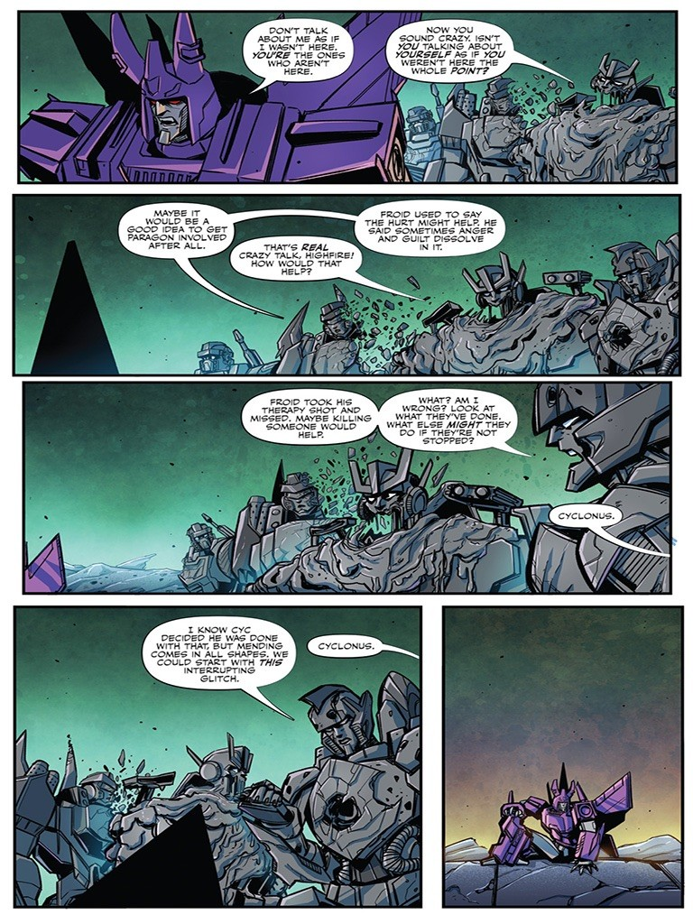 Transformers News: Apple Books 3 Page Preview Of IDW Transformers #17