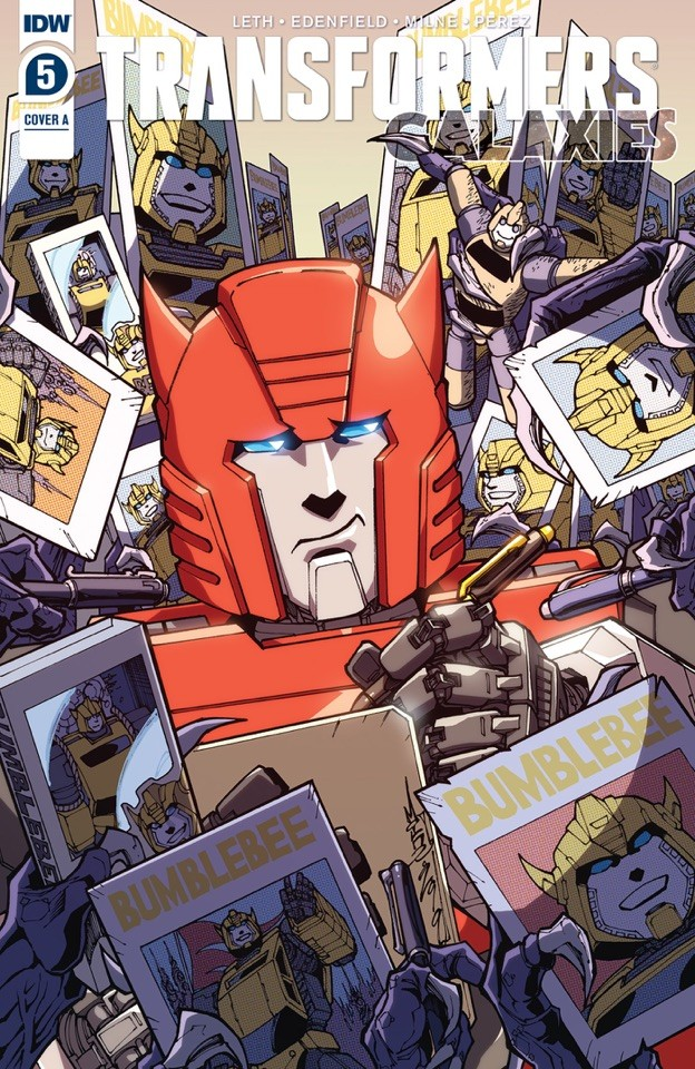 Transformers News: iTunes Preview for Transformers Galaxies #5