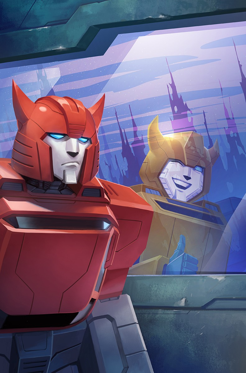 Transformers News: Sara Pitre-Durocher Cover for Transformers Galaxies #5 Revealed