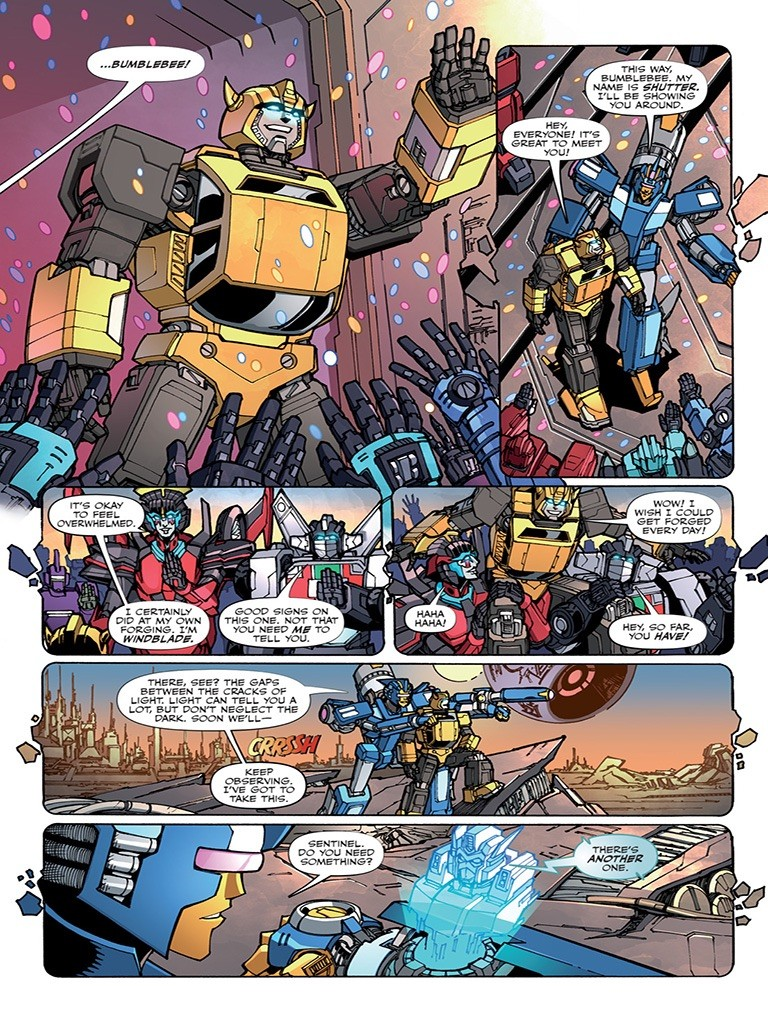 Transformers News: Transformers Galaxies #6 Preview