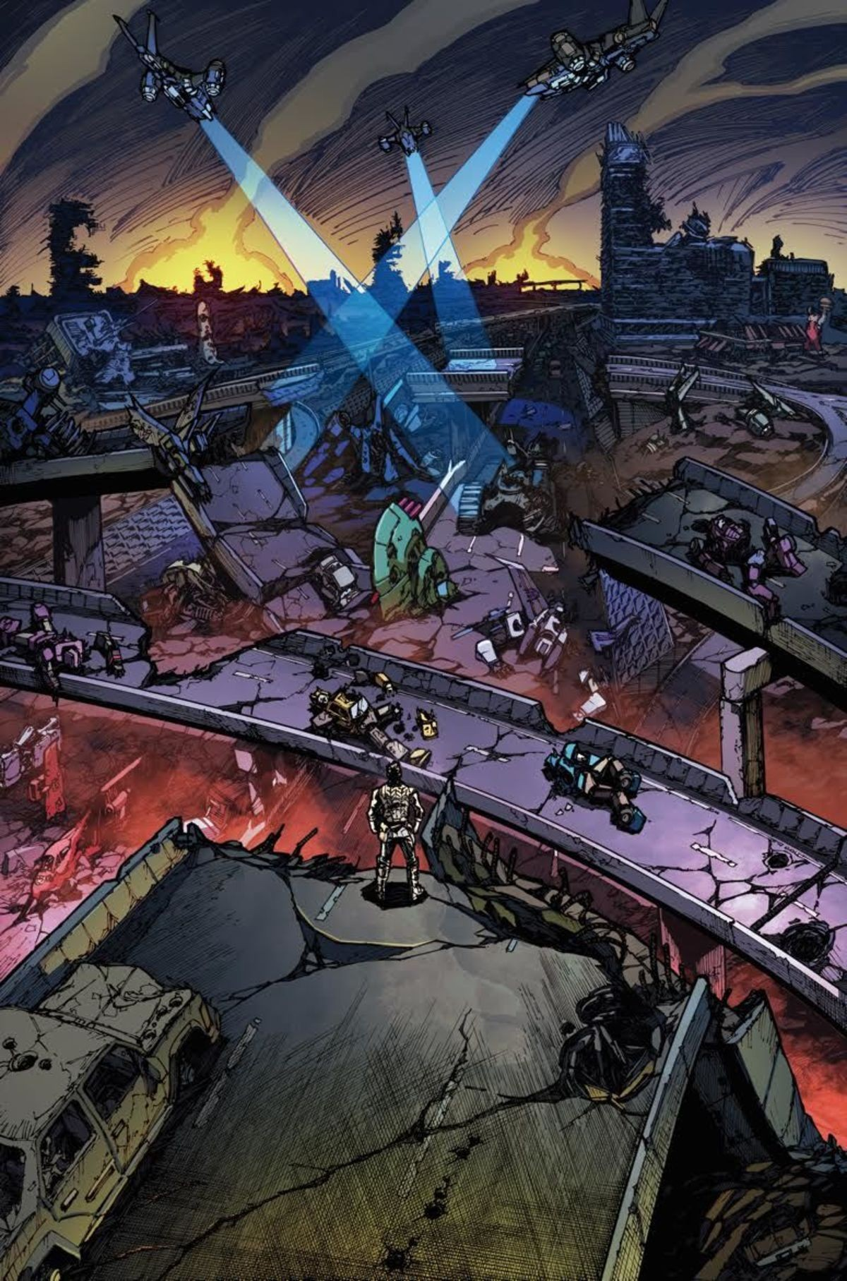 Transformers News: Transformers vs. The Terminator #1 Preview