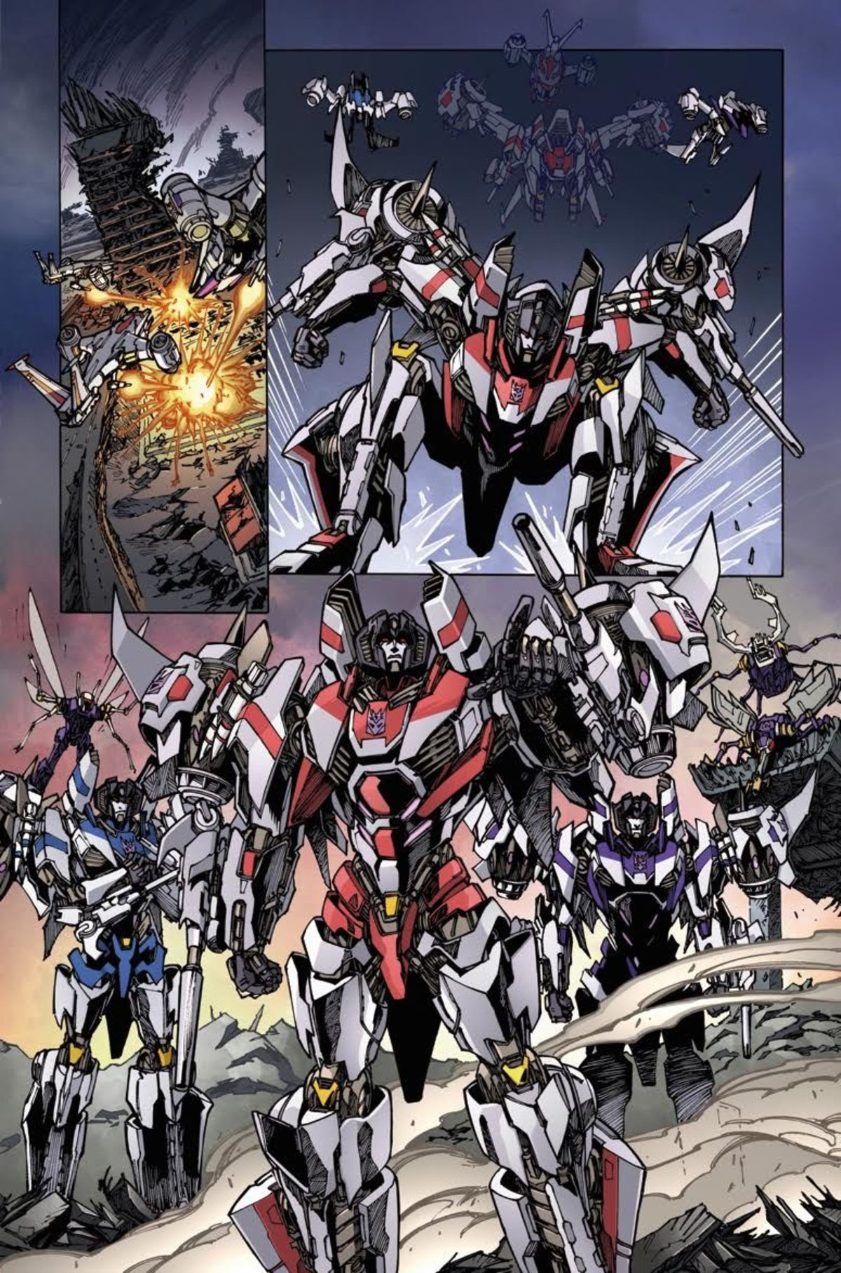 Transformers News: IDW Transformers Vs Terminator 1 Review