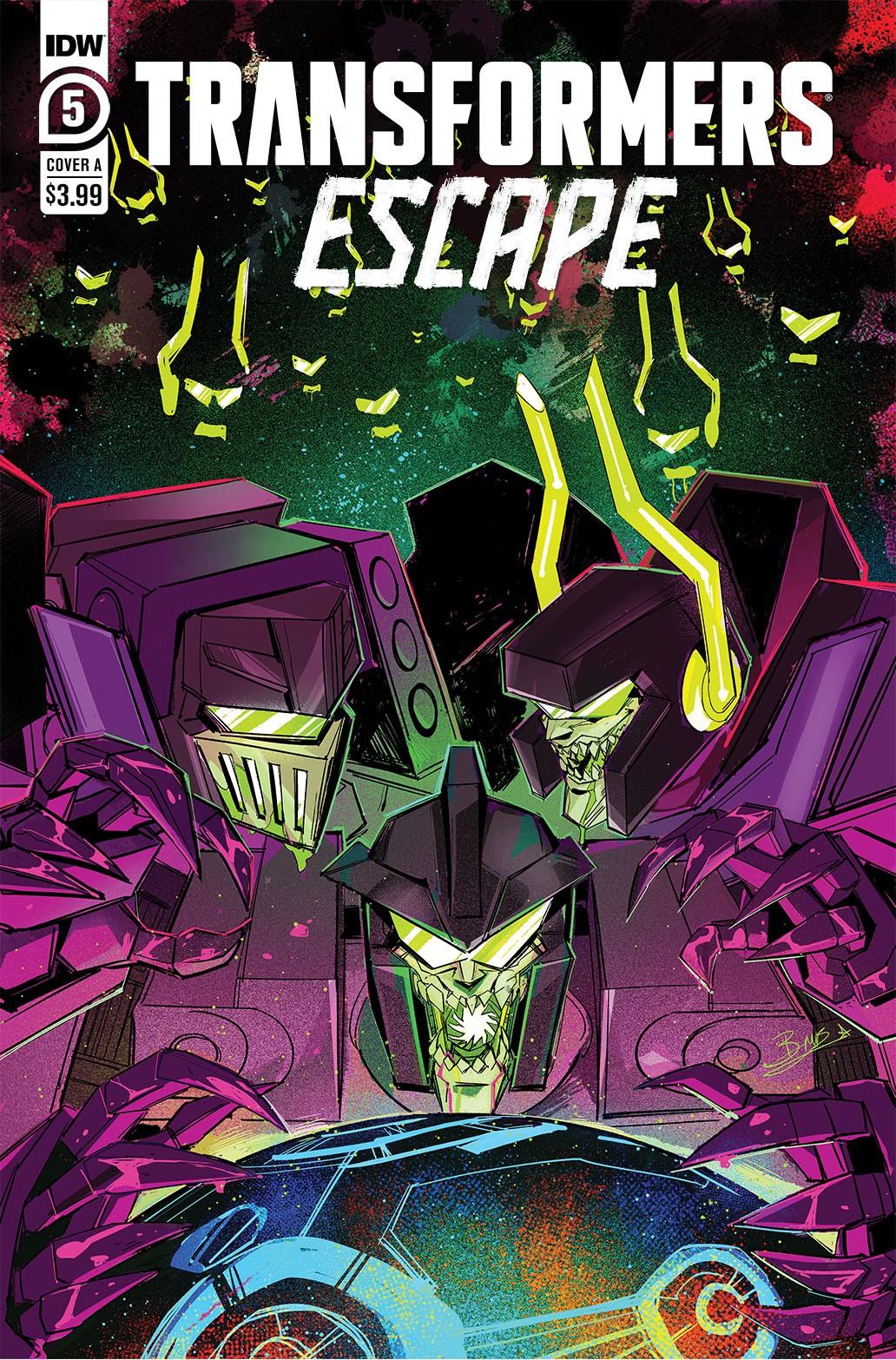 Transformers News: IDW Transformers Comics April 2021 Solicitations