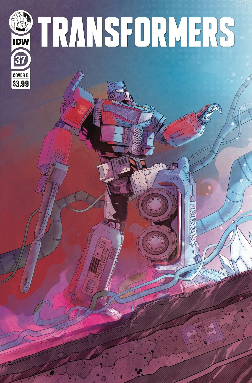 Transformers News: IDW Transformers Comics Solicitations for November 2021