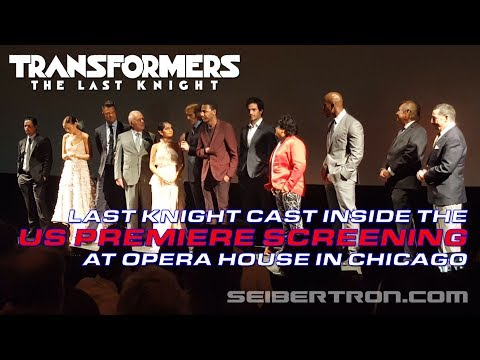 Transformers The Last Knight US Premiere Screening with Cast Members