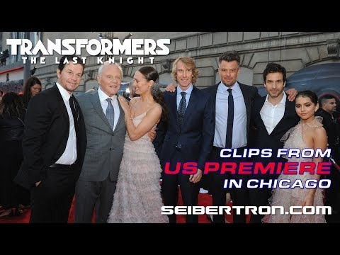 Transformers The Last Knight US Premiere in Chicago