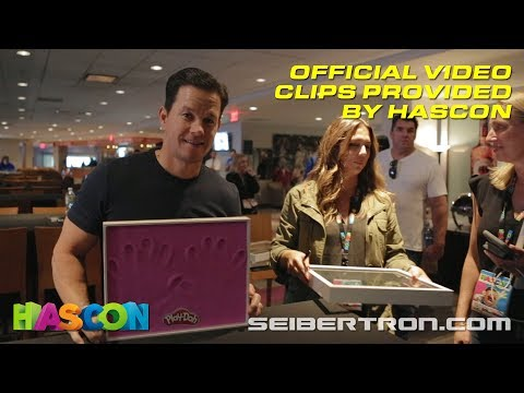 HASCON 2017: B-Roll footage with Mark Wahlberg, Isabela Moner, Daya, Stan Lee + More!