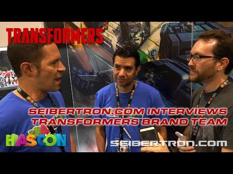 HASCON 2017: Transformers Brand Team interviewed by Seibertron.com