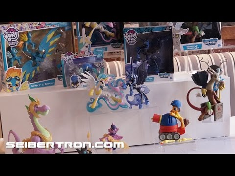 Hasbro's My Little Pony Products and Reveals on display at SDCC 2016